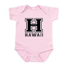 Hawaii State Designs Infant Bodysuit