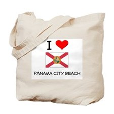 I Love PANAMA CITY BEACH Florida Tote Bag