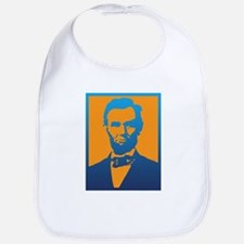Abraham Lincoln Pop Art Bib