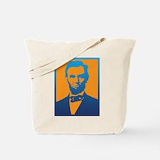 Abraham Lincoln Pop Art Tote Bag
