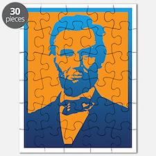 Abraham Lincoln Pop Art Puzzle