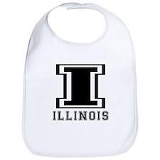 Illinois State Designs Bib