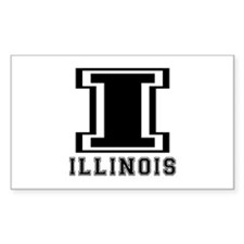 Illinois State Designs Decal