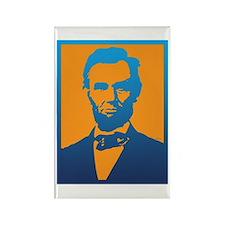 Abraham Lincoln Pop Art Magnets