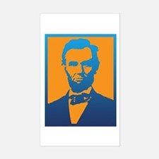 Abraham Lincoln Pop Art Decal