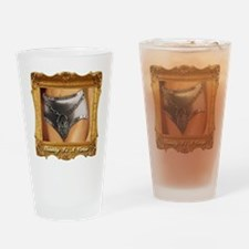 Chastity Is A Virtue Drinking Glass