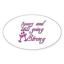 7th anniversary designs Decal