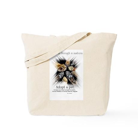 Strength in numbers -Tote Bag