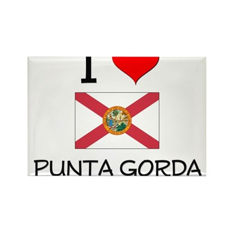 I Love PUNTA GORDA Florida Magnets