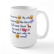 You are my Sun Shine Song Mug