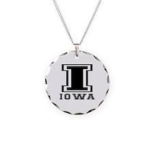Iowa State Designs Necklace