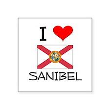 I Love SANIBEL Florida Sticker
