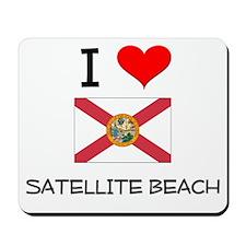 I Love SATELLITE BEACH Florida Mousepad