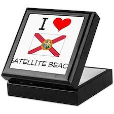 I Love SATELLITE BEACH Florida Keepsake Box