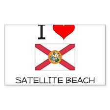 I Love SATELLITE BEACH Florida Decal