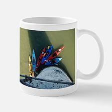 Kayaks from Above Mug