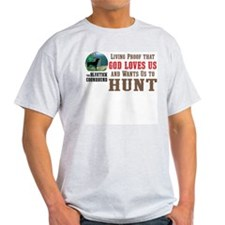 Bluetick Coonhound Ash Grey T-Shirt