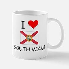 I Love SOUTH MIAMI Florida Mugs