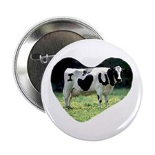 I Love You Cow Button