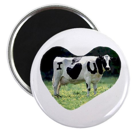 "I Love You Cow 2.25"" Magnet (100 pack)"