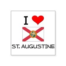 I Love ST. AUGUSTINE Florida Sticker