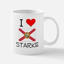 I Love STARKE Florida Mugs