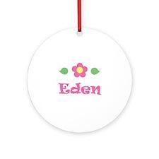 """Pink Daisy - """"Eden"""" Ornament (Round)"""