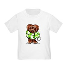 Chocolate Havanese Scarf T