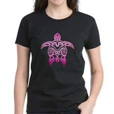 Pink Tribal Turtle T-Shirt
