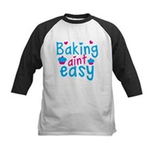 Baking aint EASY! with cute cupcakes Baseball Jers