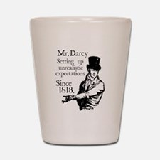 Cute Pride prejudice Shot Glass