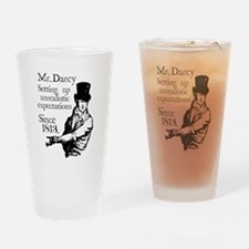 Cute Austen Drinking Glass