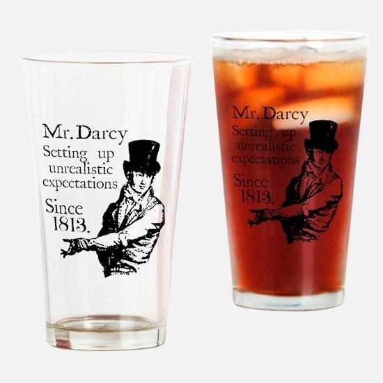 Funny Pride prejudice Drinking Glass