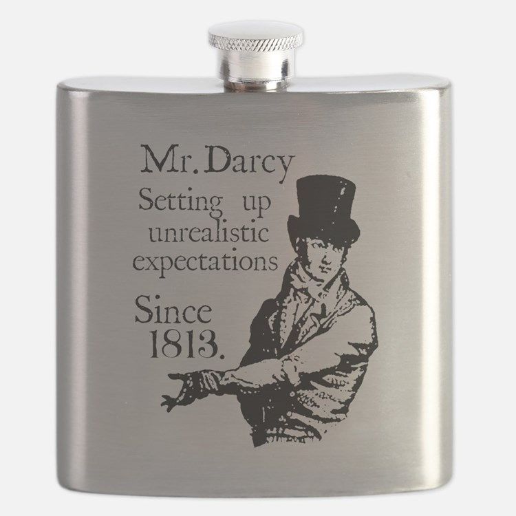 Cute Colin firth Flask