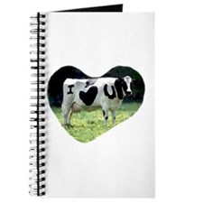 I Love You Cow Journal