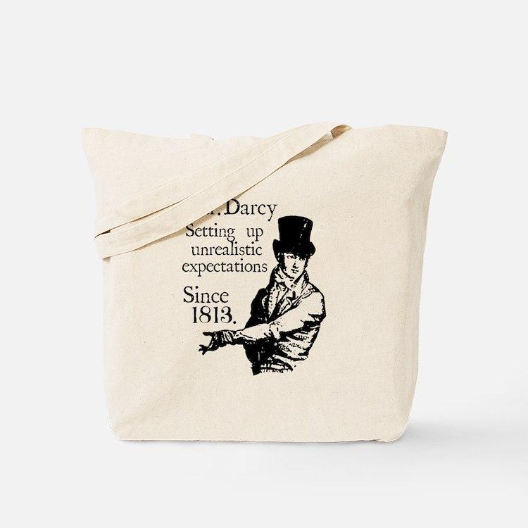 Cute Mr darcy Tote Bag