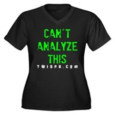 ANALYZE - LIME Plus Size T-Shirt