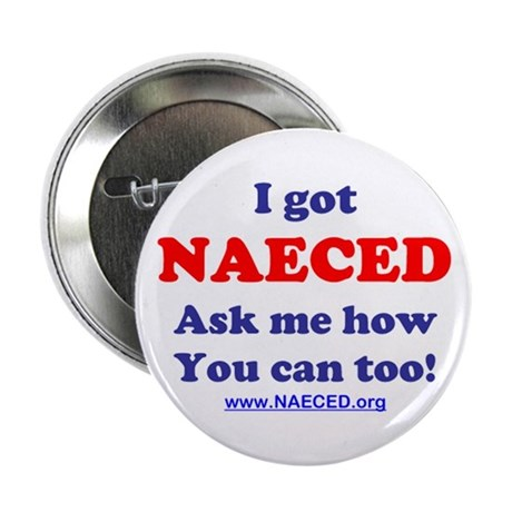 """NAECED 2.25"""" Button (100 pack)"""