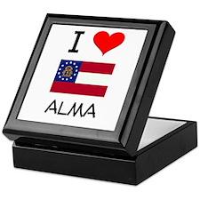 I Love ALMA Georgia Keepsake Box