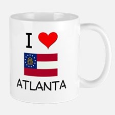 I Love ATLANTA Georgia Mugs