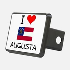 I Love AUGUSTA Georgia Hitch Cover