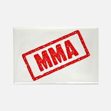 MMA (Mixed Martial Arts) Rectangle Magnet