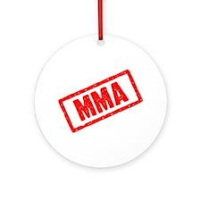 MMA (Mixed Martial Arts) Ornament (Round)