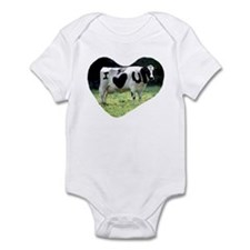 I Love You Cow Infant Bodysuit