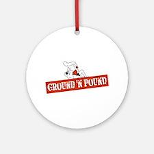 Ground n Pound Ornament (Round)