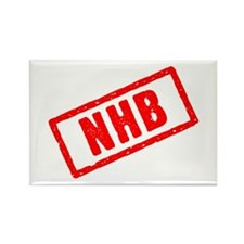 NHB (no holds barred) Rectangle Magnet