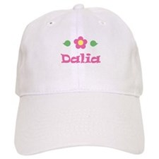 "Pink Daisy - ""Dalia"" Baseball Cap"