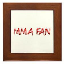 MMA Fan Framed Tile