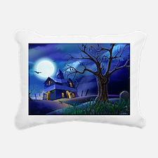 A Halloween Christmas Rectangular Canvas Pillow