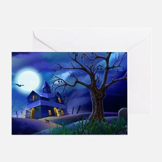 A Halloween Christmas Greeting Card